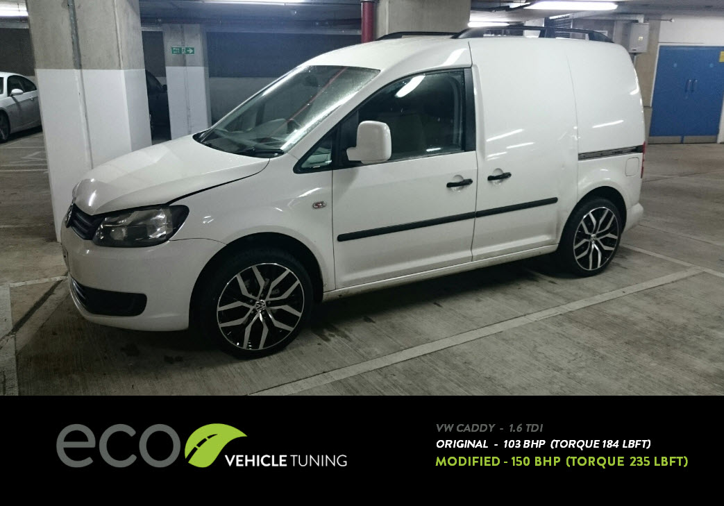 vw caddy 1 6 tdi ecu remap eco vehicle tuning. Black Bedroom Furniture Sets. Home Design Ideas