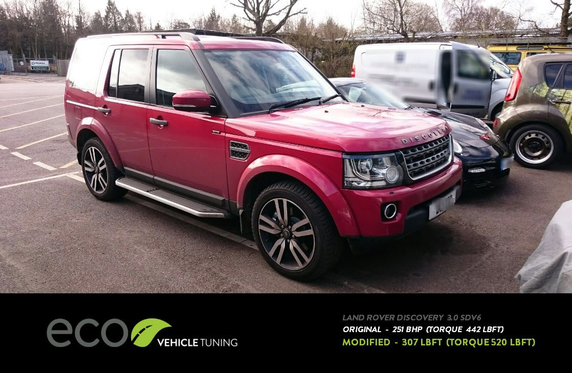 land rover discovery 3 0 sdv6 ecu remap eco vehicle tuning. Black Bedroom Furniture Sets. Home Design Ideas