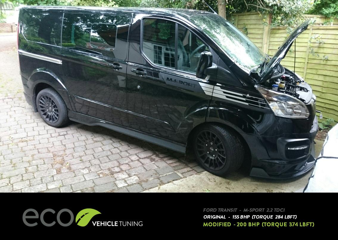 ford transit custom m sport ecu remap eco vehicle tuning. Black Bedroom Furniture Sets. Home Design Ideas