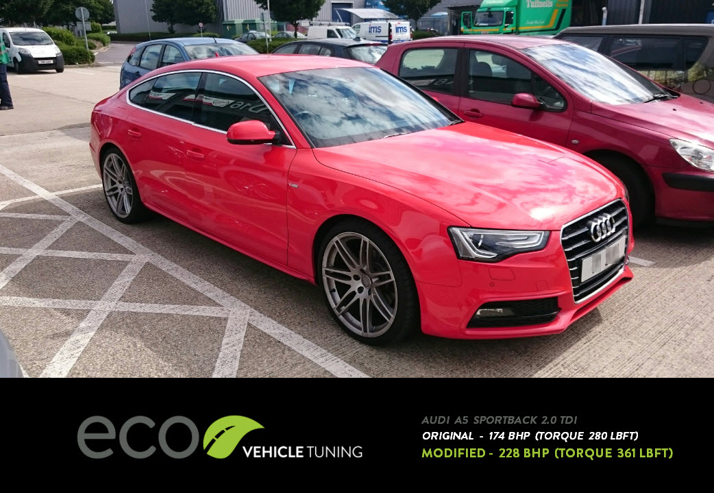 audi a5 sportback 2 0 tdi ecu remap eco vehicle tuning. Black Bedroom Furniture Sets. Home Design Ideas