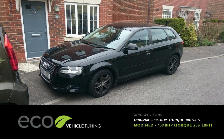 Audi A3 (8P) 1.9 TDi ECU Remap - Eco Vehicle Tuning
