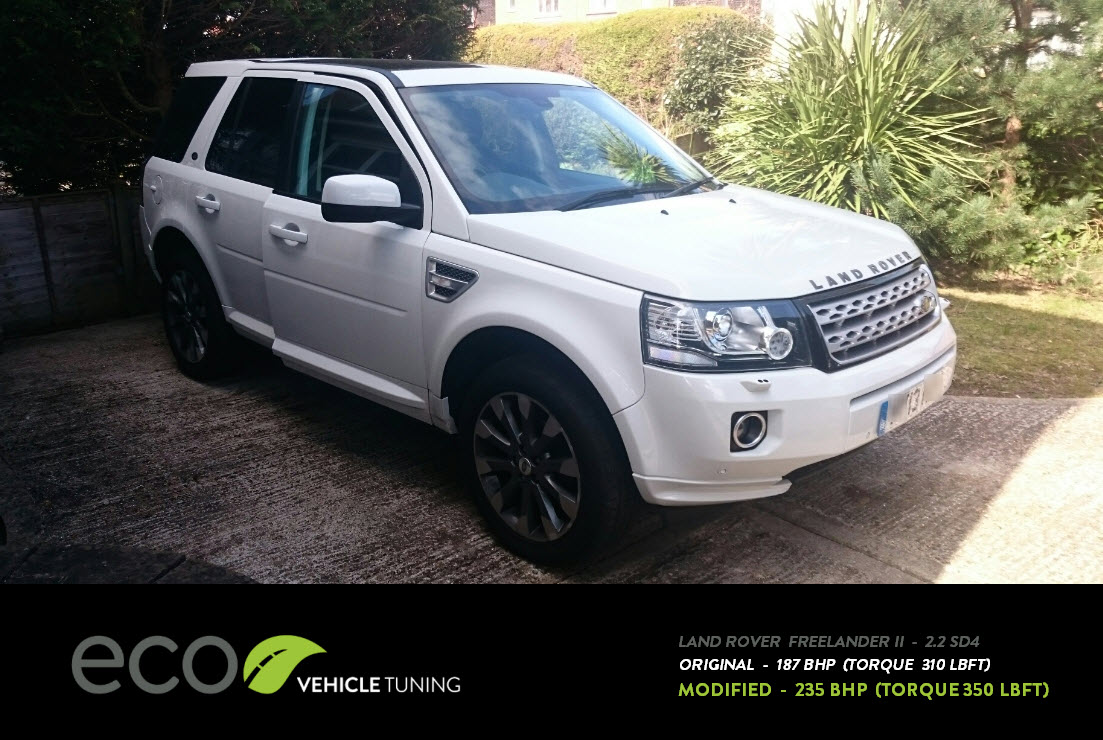 Land Rover Freelander II 2.2 SD4 ECU Remap - Eco Vehicle ...
