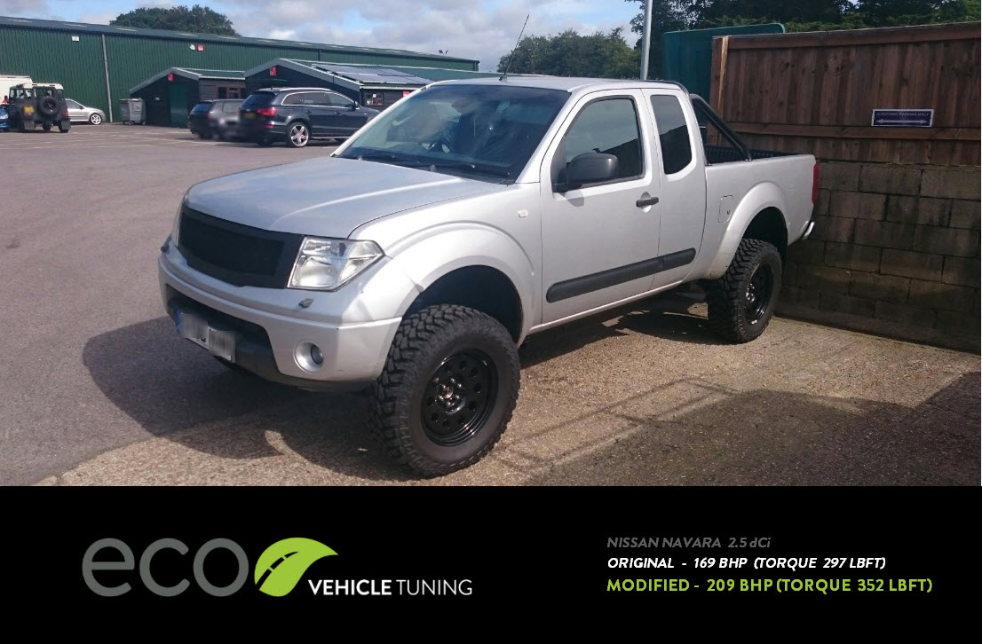 nissan navara 2.5 dci (d40) ecu remap - eco vehicle tuning