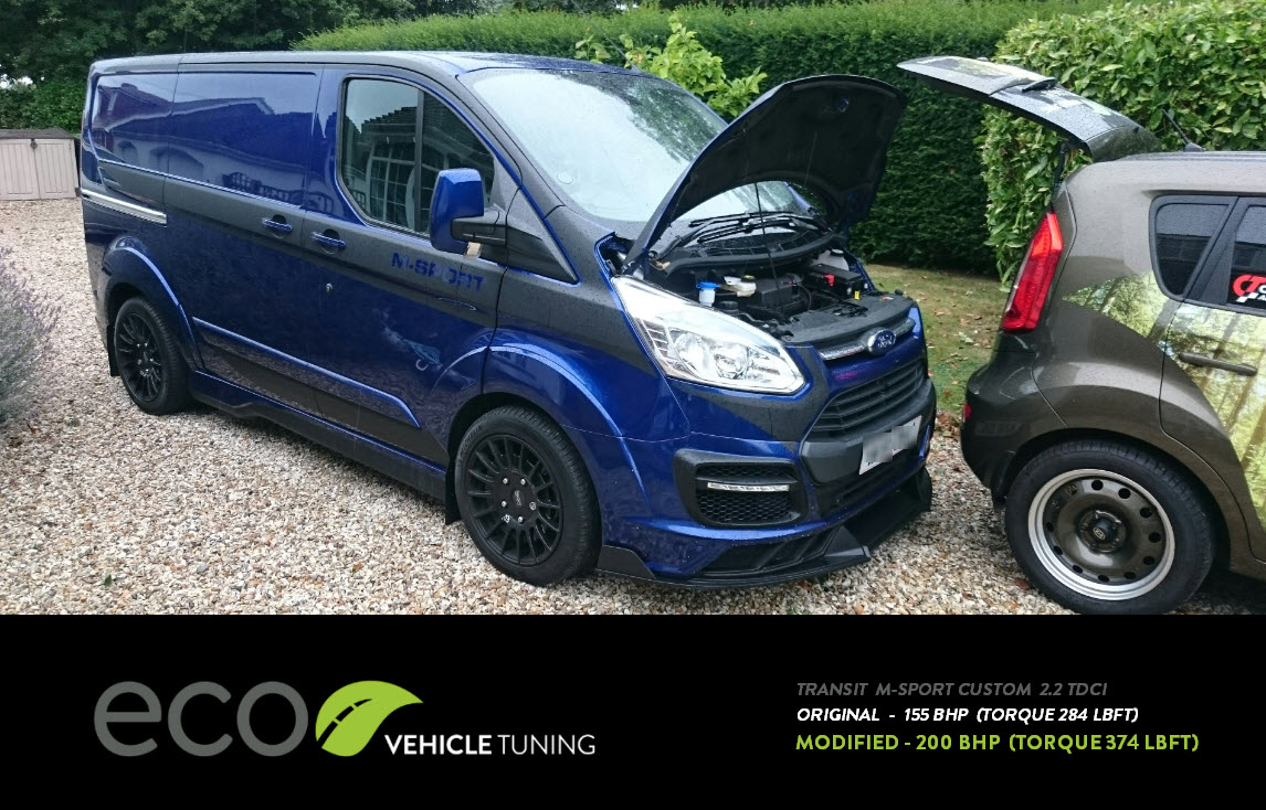 ford transit custom m sport 2 2 tdci ecu remap eco. Black Bedroom Furniture Sets. Home Design Ideas