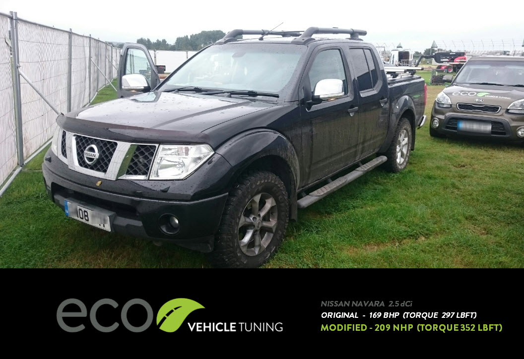 nissan navara d40 2.5 dci ecu remap - eco vehicle tuning