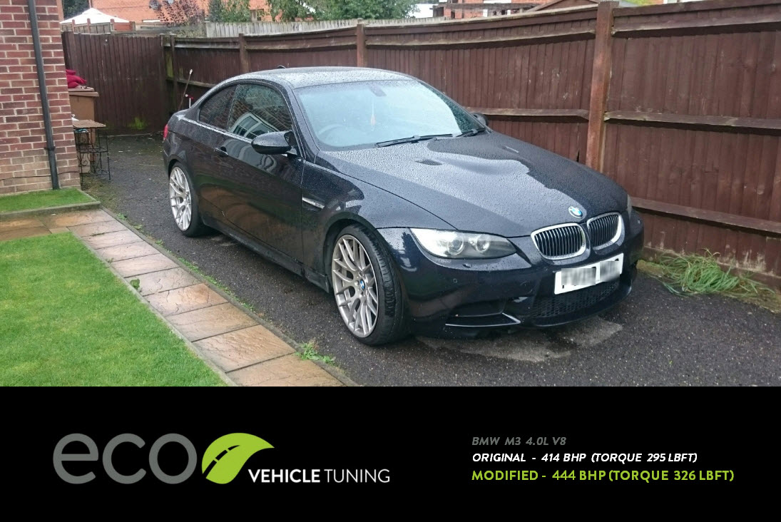 BMW 3 Series (E92) M3 ECU Remap - Eco Vehicle Tuning