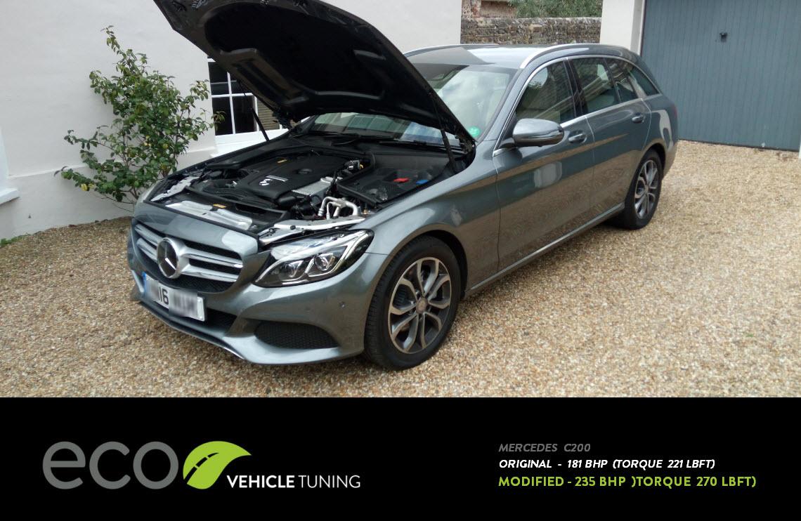 Mercedes Benz C Class C200 W205 Ecu Remap Eco Vehicle Tuning