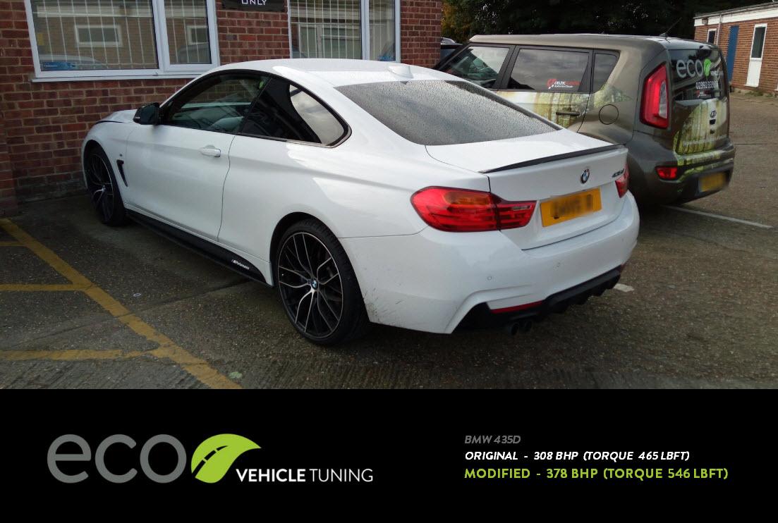 BMW 4 Series 435D ECU Remap - Eco Vehicle Tuning