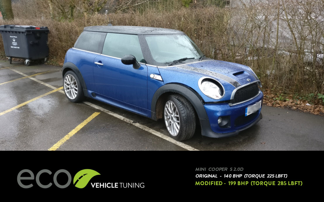 Mini Cooper S 2 0D ECU Remap - Eco Vehicle Tuning