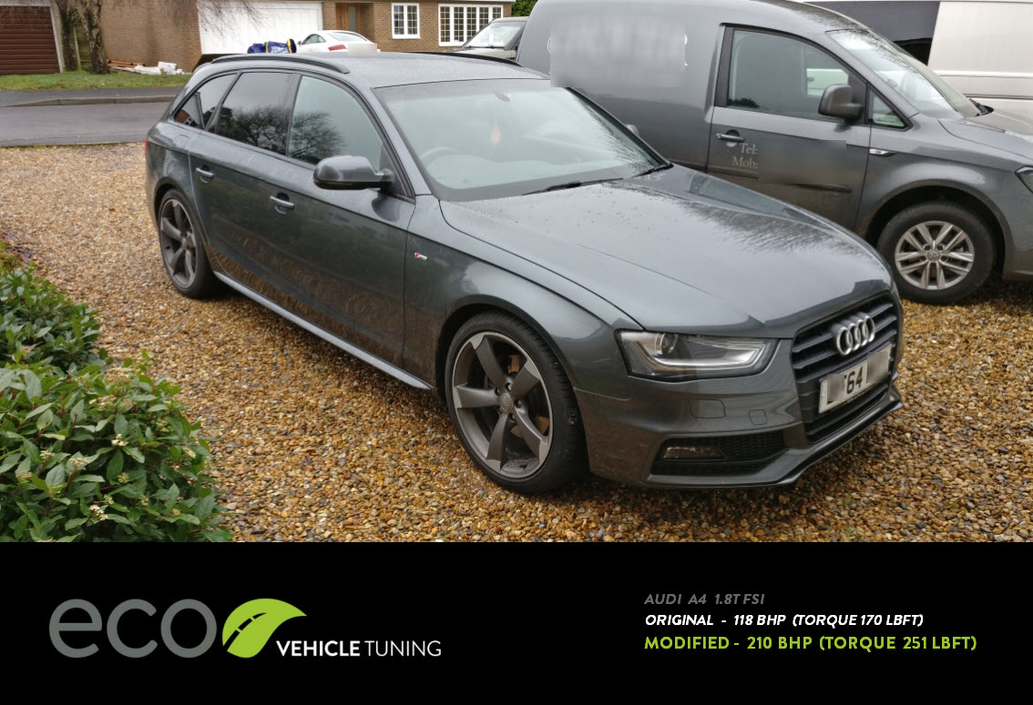 audi a4 1 8t fsi stage 2 ecu remap eco vehicle tuning. Black Bedroom Furniture Sets. Home Design Ideas
