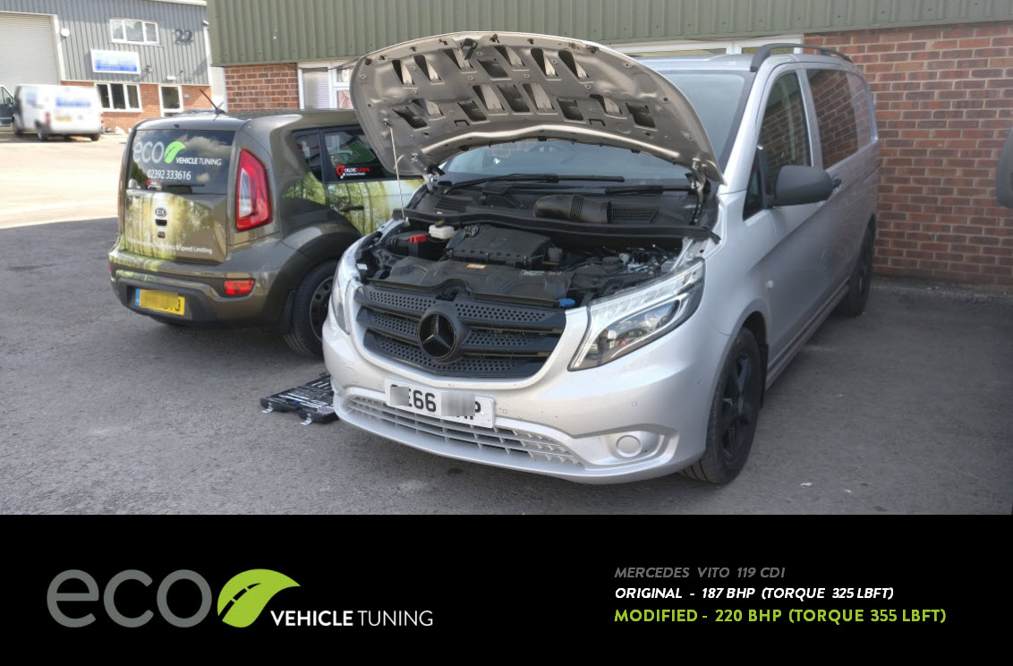 Mercedes Vito 119 CDi (W447) ECU Remap - Eco Vehicle Tuning