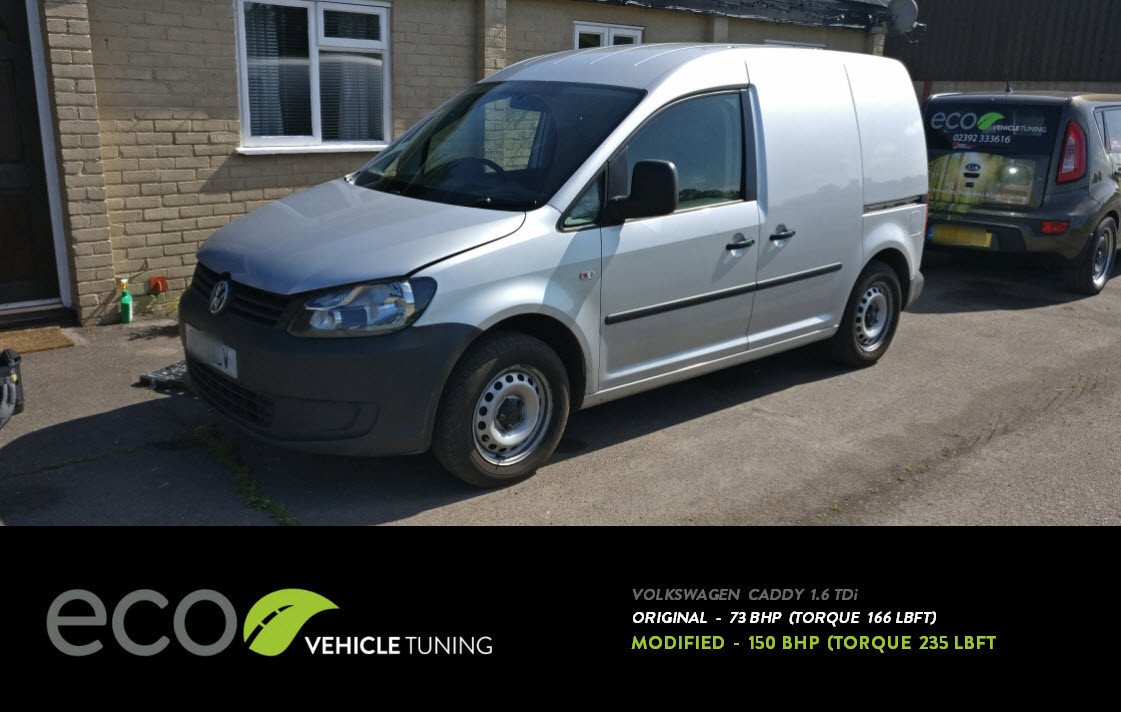 Volkswagen Caddy (2K) 1 6 TDi ECU Remap - Eco Vehicle Tuning