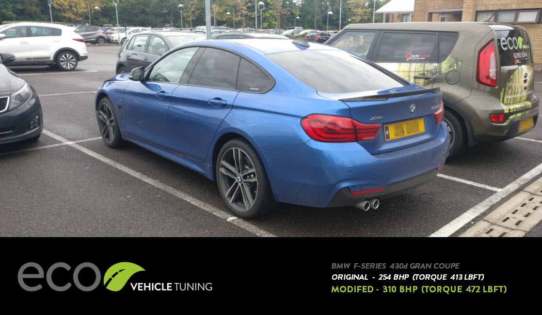 BMW 4 Series 430d ECU Remap - Eco Vehicle Tuning