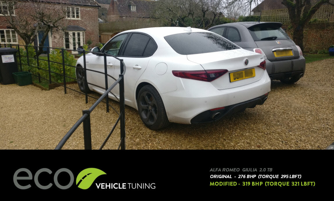 Alfa Romeo Giulia 2 0 TB ECU Remap - Eco Vehicle Tuning