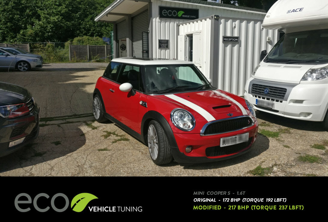 mini cooper s r56 1 6t ecu remap eco vehicle tuning. Black Bedroom Furniture Sets. Home Design Ideas