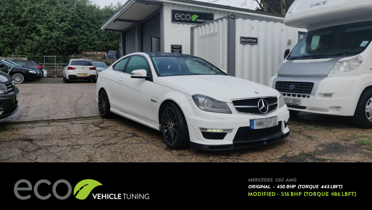 Mercedes C63 AMG (W204) ECU Remap - Eco Vehicle Tuning