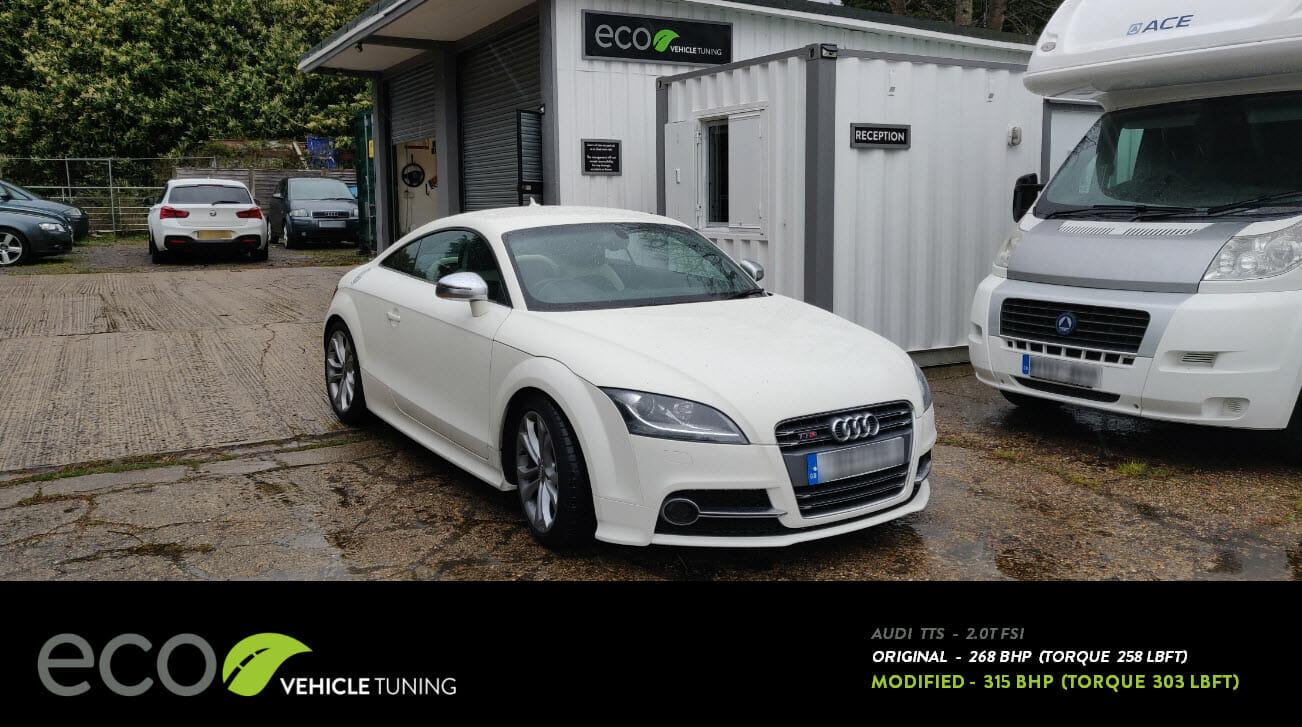 Audi TTS 2 0TFSI ECU Remap + Dyno/Rolling Road - Eco Vehicle