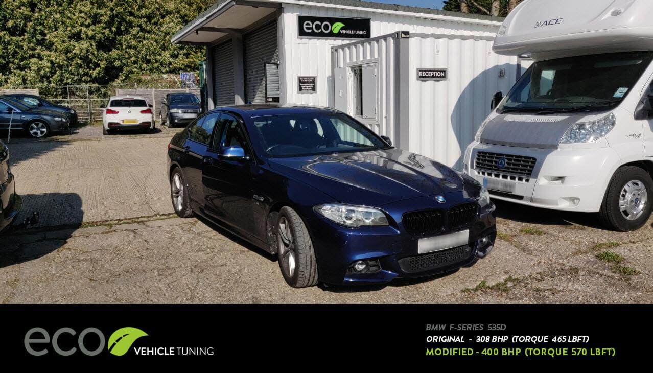 BMW F-Series 535D ECU & ZF8 Remap - Eco Vehicle Tuning